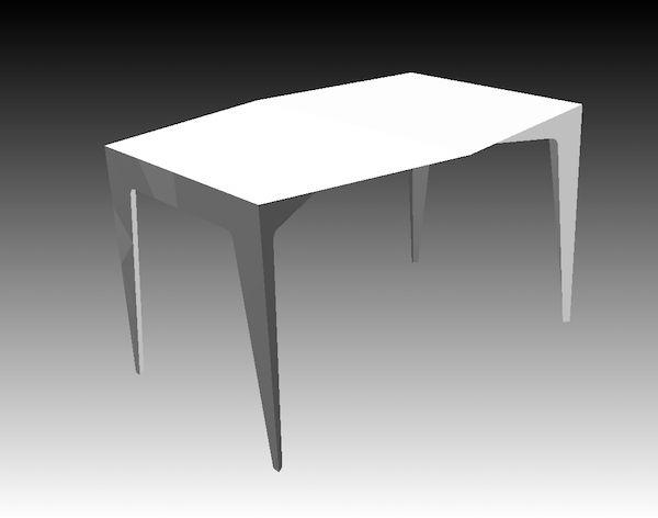 Mesa de cuatro mesa-de-cuatro