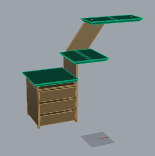 Muebles de platos mueble-de-platos