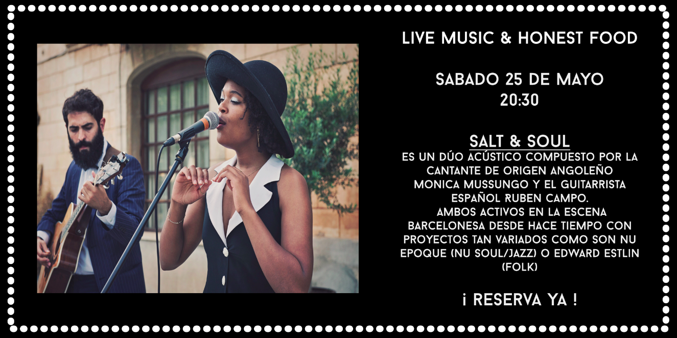 Live music salt and soul